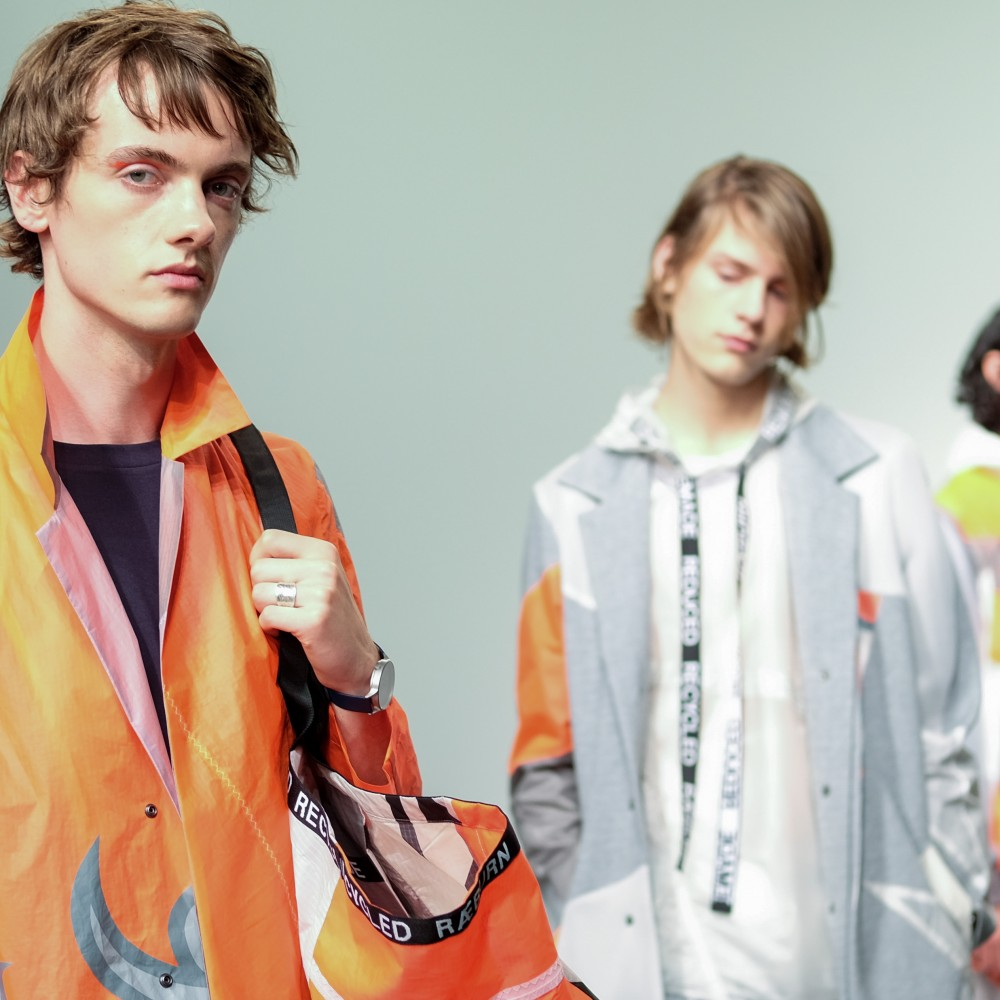 I love being there because it gives me more time to work creatively. Highlights from LFW Men's 17 with Krisztian