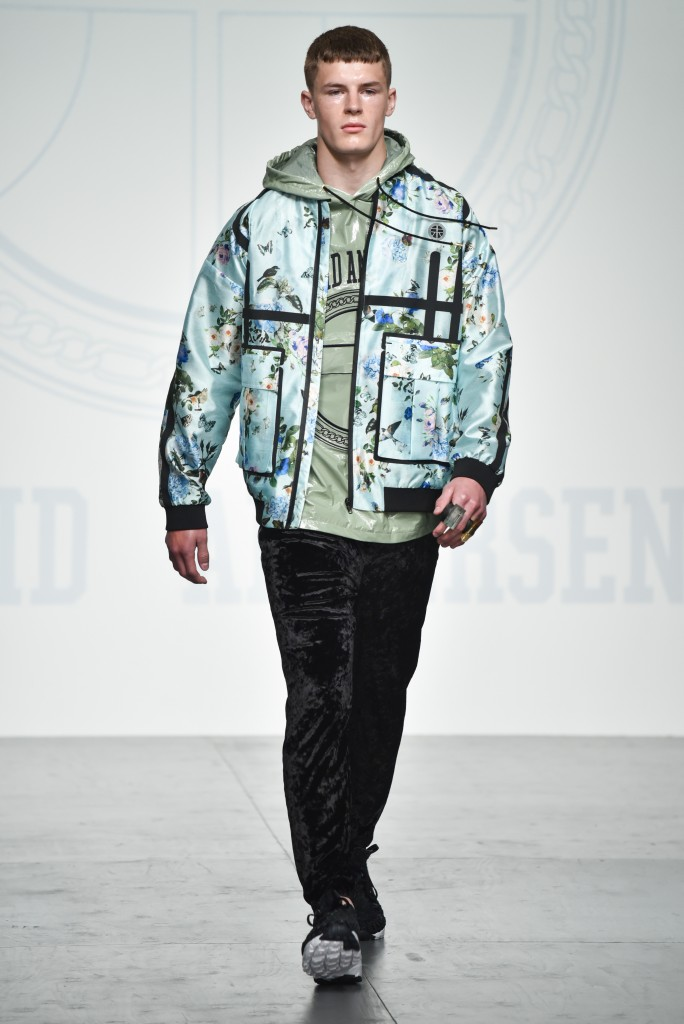 Astrid Andersen catwalk on Day 3 London Fashion Week Mens SS18